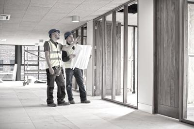 office interior construction